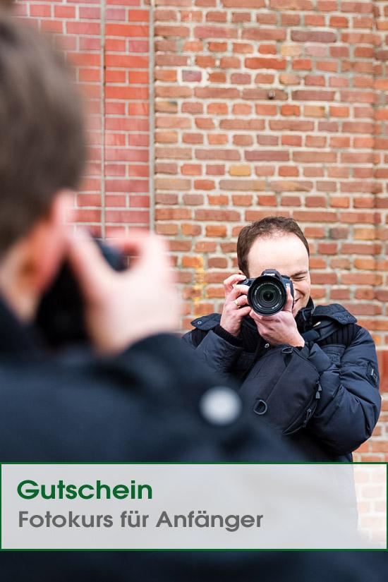 Fotokurs Anfänger Gutschein