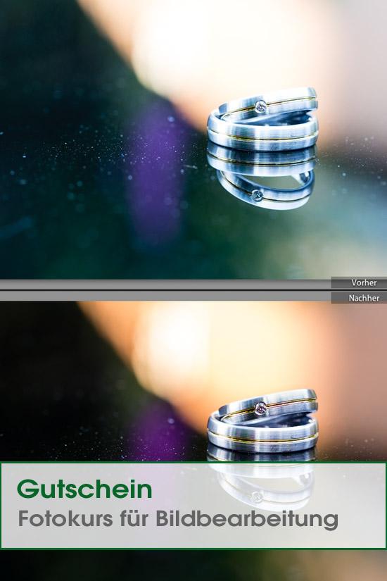 Gutschein Bildbearbeitungskurs Adobe Lightroom